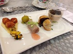 Savoury course at Rochelle Adonis