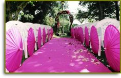 Here are some unique ideas for aisle runners for your big day!  #wedding