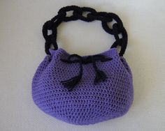 Crochet Purse Pattern: Link Love Bag by Speckless on Etsy