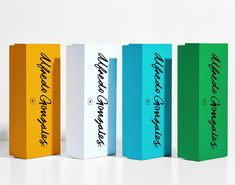 Alfredo Gonzales branding and packaging by Anagrama Studio #InspoFinds