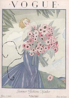 — fawnvelveteen: Vogue June 1923, Georges Lepape