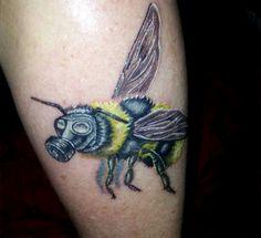 by Birdie at Black Rabbit Tattoo Studio in Port Moody, BC Rabbit Tattoos, Tattoo Studio, Watercolor Tattoo, Black, Bunny Tattoos, Black People, Temp Tattoo