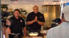 """Chef Jeff, the host of the hit cooking show """"Flip My Food"""", is in Savannah filming for his show."""