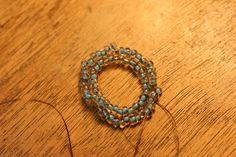 Posts about Oglala stitch written by beadnfun Ruffle Beading, Peyote Stitch, Beading Tutorials, Turquoise Necklace, Beaded Bracelets, Beads, Rings, Jewelry, Beadwork