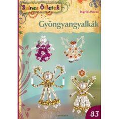 Gyöngyangyalkák - Színes Ötletek 83. Christmas Ornaments To Make, Christmas Bells, Christmas Angels, Christmas Crafts, Safety Pin Crafts, Beaded Angels, Angel Crafts, Cute Little Things, Beaded Ornaments