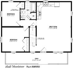 X Cabin Plans With Loft Bing Images Cabin Pinterest