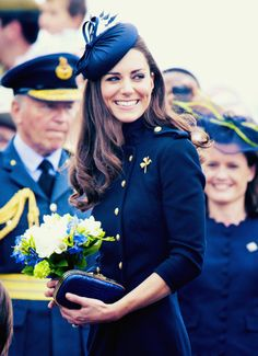 Kate attends her first military engagement in celebration of Armed Forces Day on June 25th, 2011.