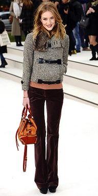 Velvet trousers...want!