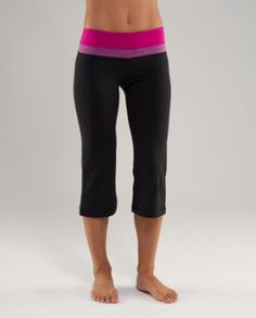 couldn't live without my Lulu workout capris....love love love em.