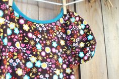 The Beginner's Baby Dress with Puff Sleeves Pattern | Pretty Prudent
