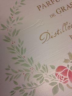 Atmosphère Déco (Suisse) Pochoir Parfumerie de Grasse