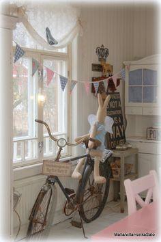 Use a bike in decor