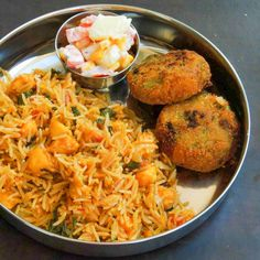 Make this one-dish pot meal for a quick weeknight dinner. Vegetables and paneer make this biriyani a delicious one and cooked in with aromatic spices. Serve with Raita of your choice. --> http://ift.tt/1pQNh3B #Vegetarian #Recipes