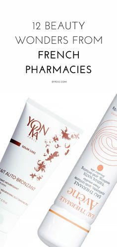 12 amazing beauty products from French pharmacies
