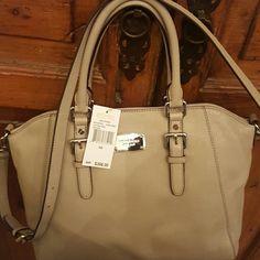 Gray Michael Kors New with tags msrp $398 leather gray Michael Kors Bags Hobos