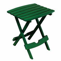 NO-BRAND Quik-Fold Side Tables Hunter Green