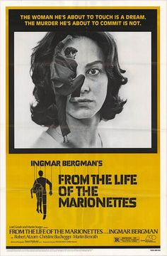 From the life of the Marionettes by Ingmar Bergman