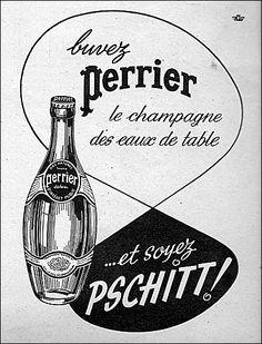 Le champagne des eaux de table !……reépinglé par Maurie Daboux….ღ. ¸.•*¨