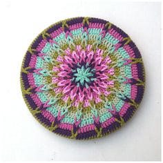 Free crochet tutorial for pot holder