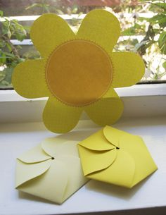 cards, add flower seed packets. cute