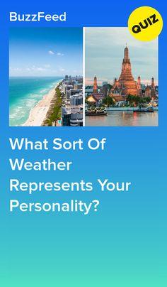 What Sort Of Weather Represents Your Personality? Fun Personality Quizzes, Infj Personality, World Quiz, Bullet Journal Travel, Quizzes For Fun, Interesting Quizzes, Disney Quiz, Istj, Teen Posts