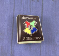 Hogwarts: A History (Harry Potter) Pin by FandomFlairPins on Etsy