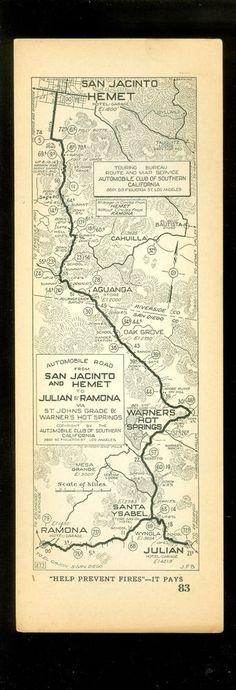 Ramona Valley May Be The Next Napa Valley San Diego Visit - California map ramona