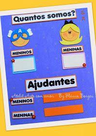 Ateliê Arte com amor: Decoração para sala de aula - TEMA HISTÓRIAS INFANTIS Classroom Displays, Book Projects, Initials, School, Eggs