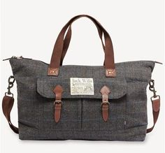 Jack Wills - aldrich-holdall - fabric by Fox Brothers
