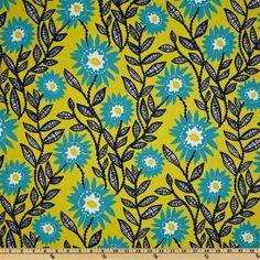 Possible coordinating fabric--Premier Prints Fenton Sunshine/Natural - Discount Designer Fabric - Fabric.com