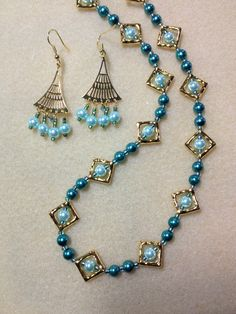 JSKIT0294 (gold tone) Bead Jackets and JSKIT0344 (gold tone) Art Deco earrings String your choice of bead within bead jackets and turn ordinary beads into little treasures! Adding dangles to the Art Deco earring