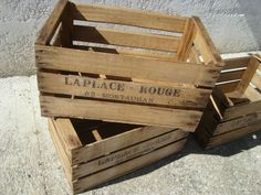 Transformer une vieille caisse en bois en... JARDINIERE!