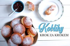 Koblihy recept Czech Recipes, Snack Recipes, Snacks, Learn To Cook, Pavlova, Pretzel Bites, Food And Drink, Sweets, Bread