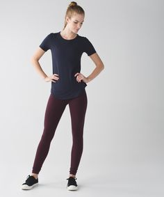 These versatile, high-rise pants were designed to fit like a second skinâ??perfect for yoga or the gym.