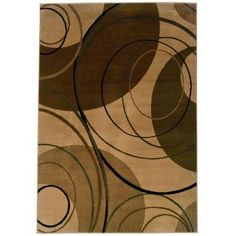 Home Decorators Collection Gyro Beige 2 ft. 6 in. x 4 ft. 5 in. Area Rug-0520500420 - The Home Depot