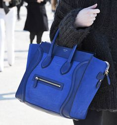Blue Celine, on my wishlist!