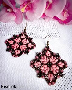 Russian Master Class for earrings - very good pictures.  #Seed #Bead #Tutorials