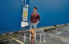 Taecyeon  -Elle Magazine June Issue '15