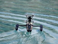 Hydrofoil #Drone by Parrot  Designed to Glide Over Water! #gadgets #tech