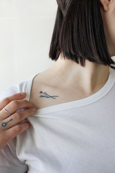 miso : home-made tattoos : twin branches for tessa, traded for whiskey : melbourne, 2013