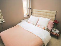 Det er nemmere og billigere, end du lige forestiller dig, at lave en elegant sengegavl, som man normalt kun ser på fine hoteller eller i coffeetable-bøger.