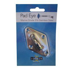 Shade Sail Accessory Coolaroo Pad Eye 310837 I/N 3301738 | Bunnings Warehouse