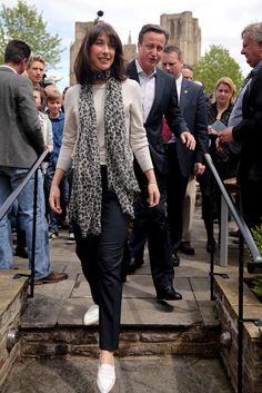 Samantha Cameron Photos - David Cameron Campaigns as Election Day Looms - Zimbio