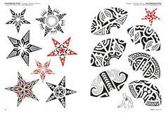 Tribal: Maori & Polynesian - Tattoo Flash Drawings - Tattoo
