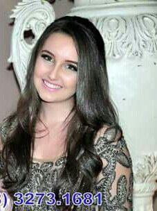 Laura Lima seus 15 anos.