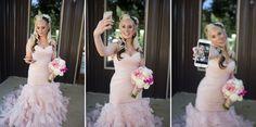 | Angela Renee Photography | Wedding Pictures | Details | DIY wedding | Wedding | Texas photography | Texas wedding | lost oak winery | white rose | rustic wedding | rustic bride | flowers | selfie | pink wedding dress | blonde | bridal hair | bridal make up | beautiful bridal make up |