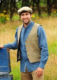 83d2b15008 Vintage Shirt VR24 with our Hurley tweed vest & cap by Lee Valley Clothing  Tweed Vest