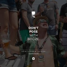 Unless it's a glass of whiskey, bourbon, or Scotch and you're holding a cigar.  But there is nothing classy about posing with a bud light