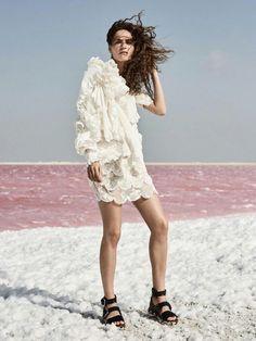 Model: Valentine Bouquet / Photographer: Dan Smith / Stylist: Lara Cviklinski