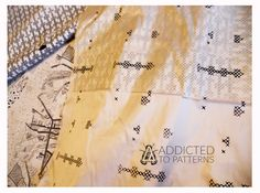 ADDICTED TO PATTERNS - playful textiles - by justynamedon